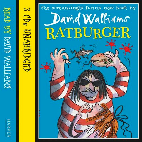 Ratburger Audiobook Read by David Walliams