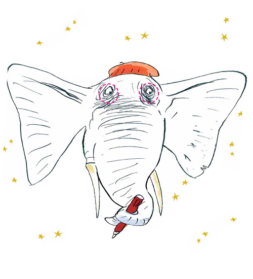 Paint and colour! Colour your very own elephant masks for you and your friends!