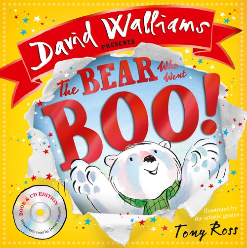 The Bear Who Went Boo! now comes with audio!