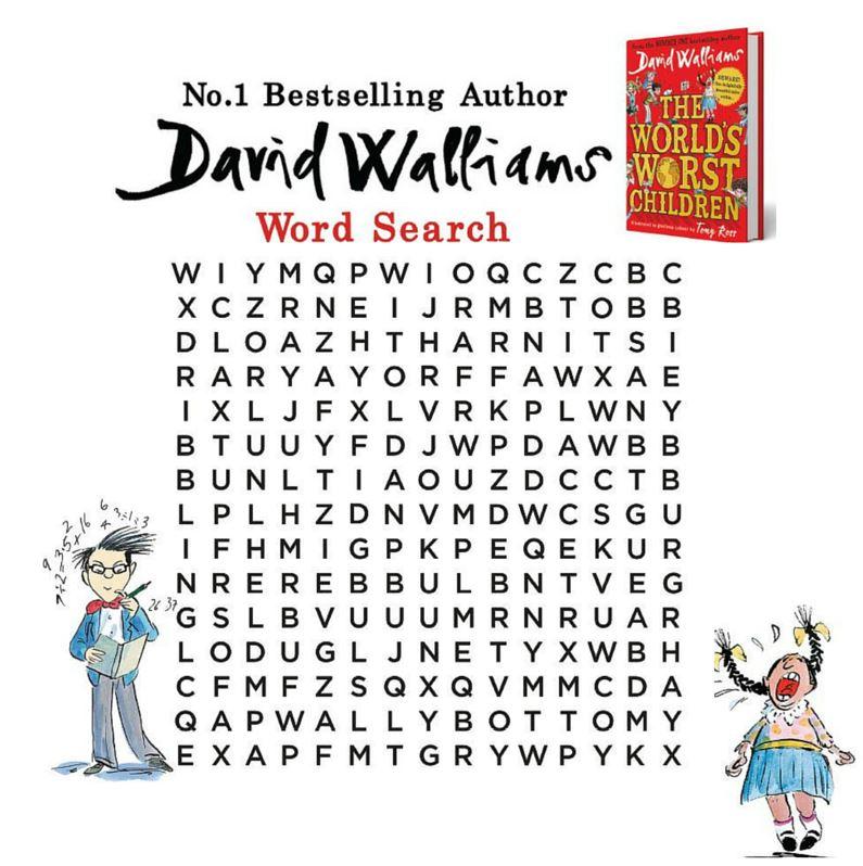 The World\'s Worst Activity Sheets! - The World of David Walliams