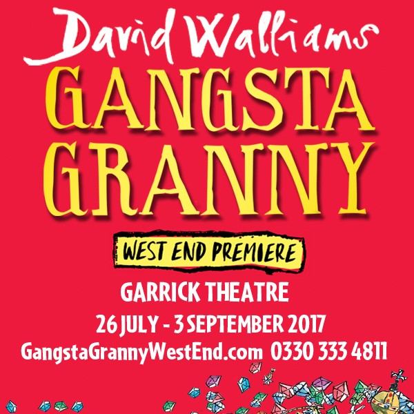 Gangsta Granny is hitting the West End in 2017!