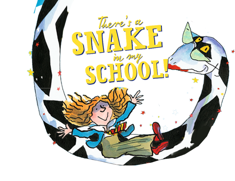 'There's a Snake in my School!' - Drawing