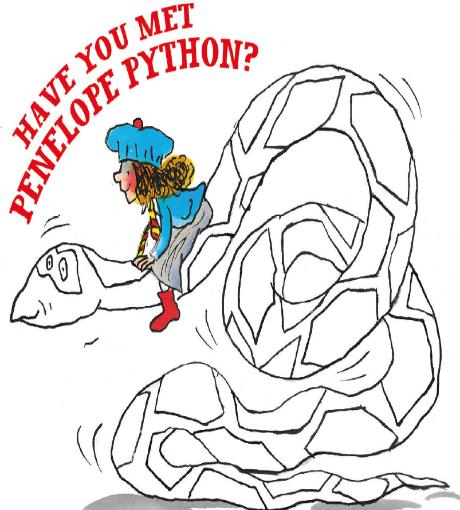 Penelope Python!