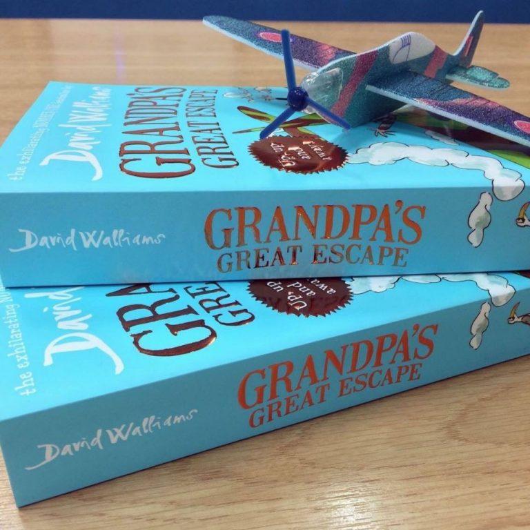 Celebrate the RAF Centenary with Grandpa's Great Escape!