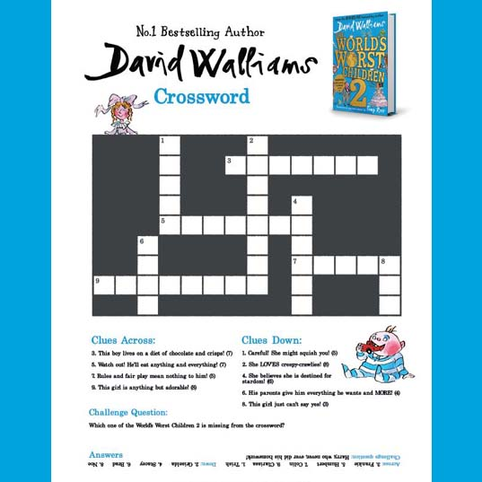 World's Worst Children 2 | Crossword