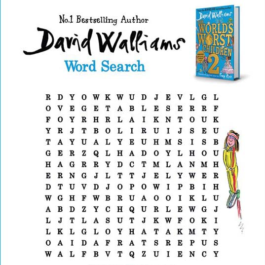 World's Worst Children 2 | Wordsearch