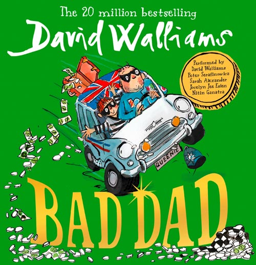 Bad Dad an Editor's Pick on Audible!