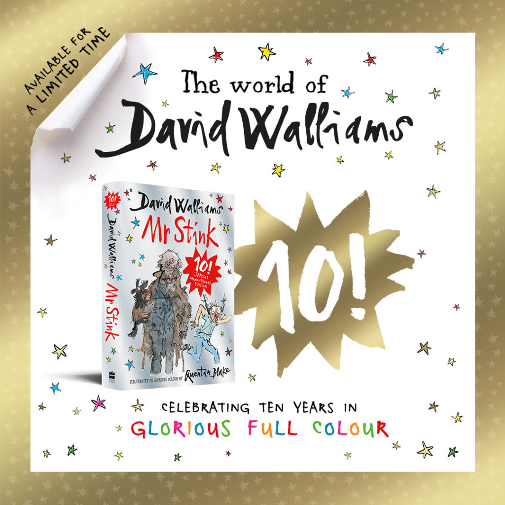 Mr Stink - Bestselling David Walliams book (Limited Edition Gift Book)