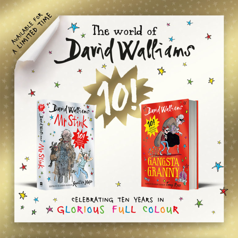 Celebrating ten wonderful Walliams years!