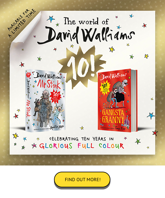 David Walliams 10th anniversary