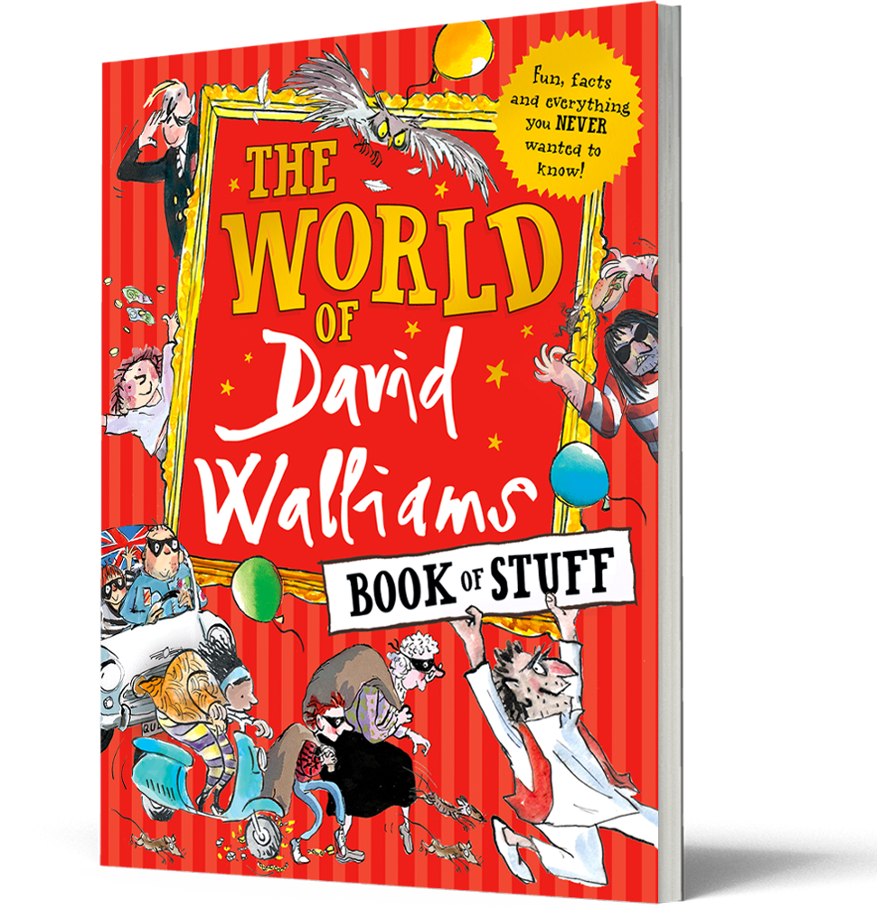The World of David Walliams: Book of Stuff