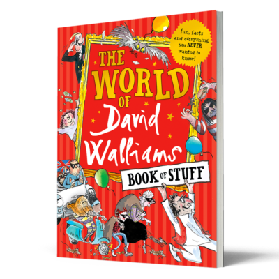 World of David Walliams Book of Stuff 3D