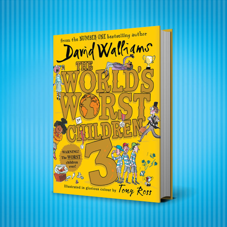 David Walliams at The Book Nook