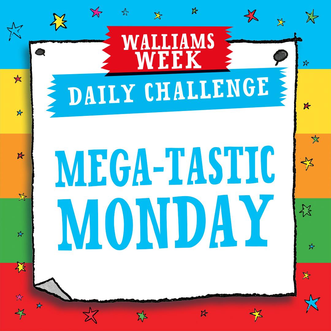 MEGA-TASTIC MONDAY CHALLENGE