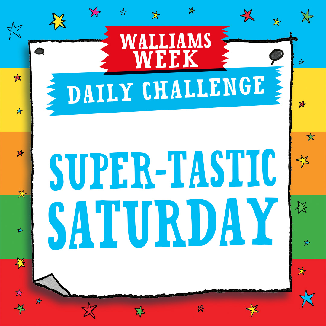 Super-tastic Saturday Challenge!