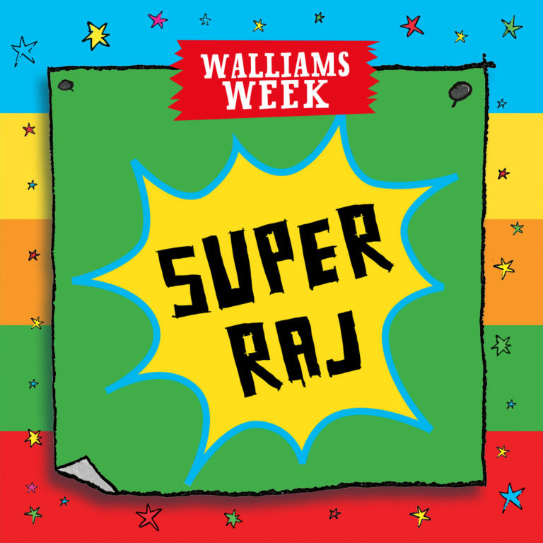 Super Raj saves the day!