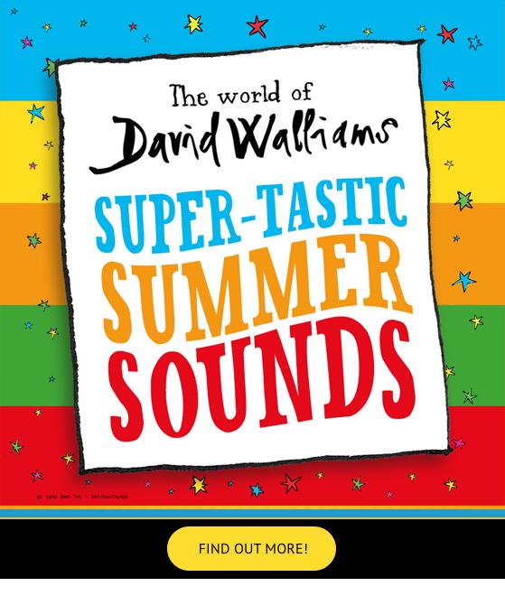 David Walliams Summer Super-Tastic Sounds
