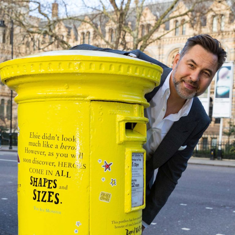 The World of David Walliams Post Box!