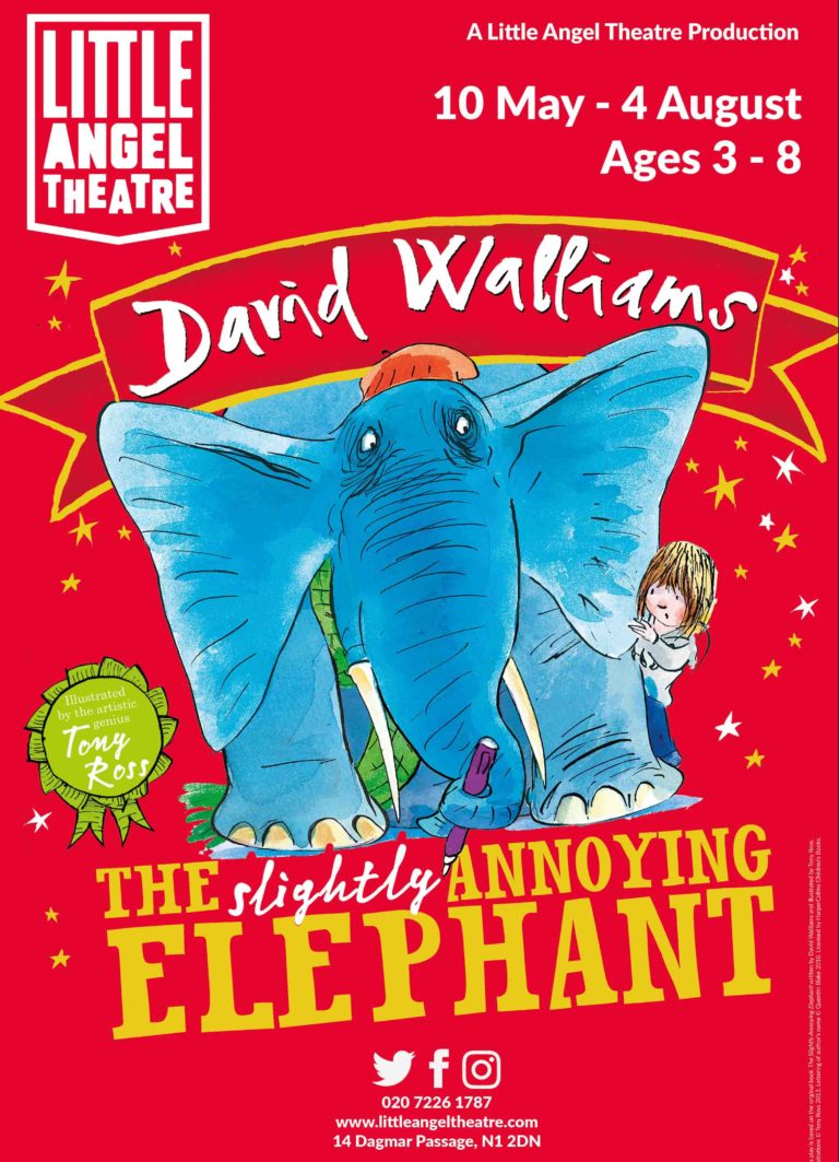 The Slightly Annoying Elephant takes to the stage