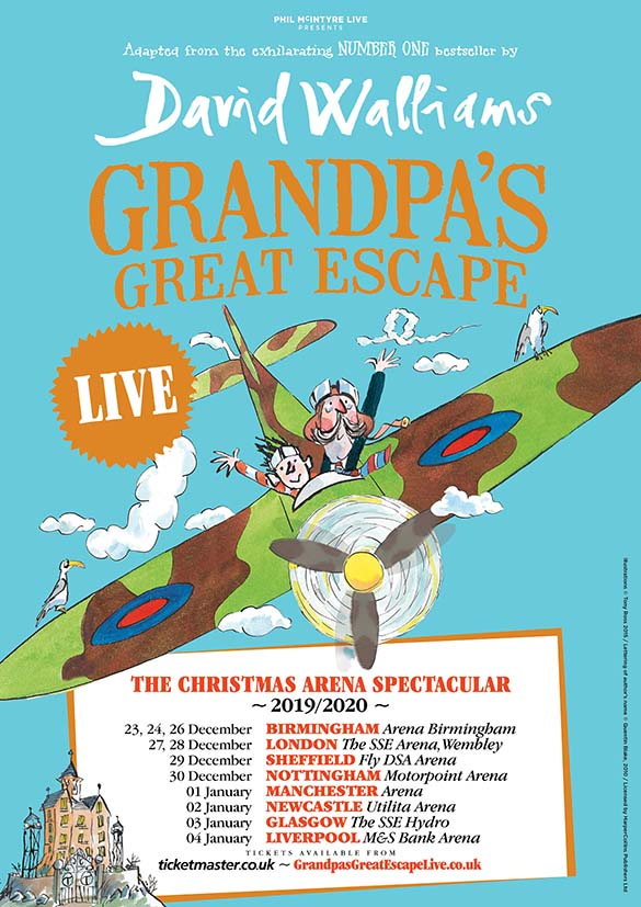Win tickets for Grandpa's Great Escape live!