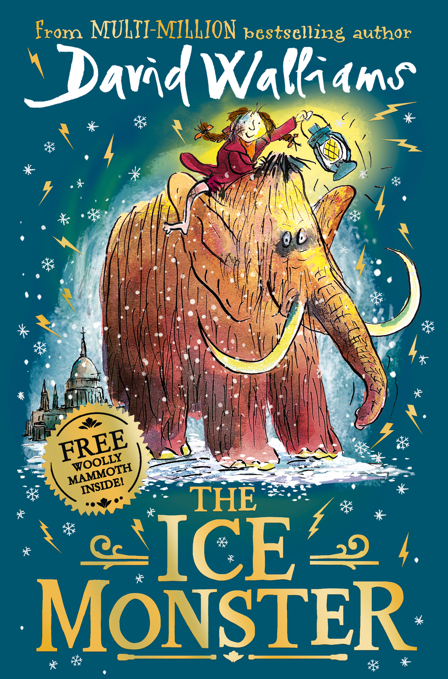 The Ice Monster by David Walliams