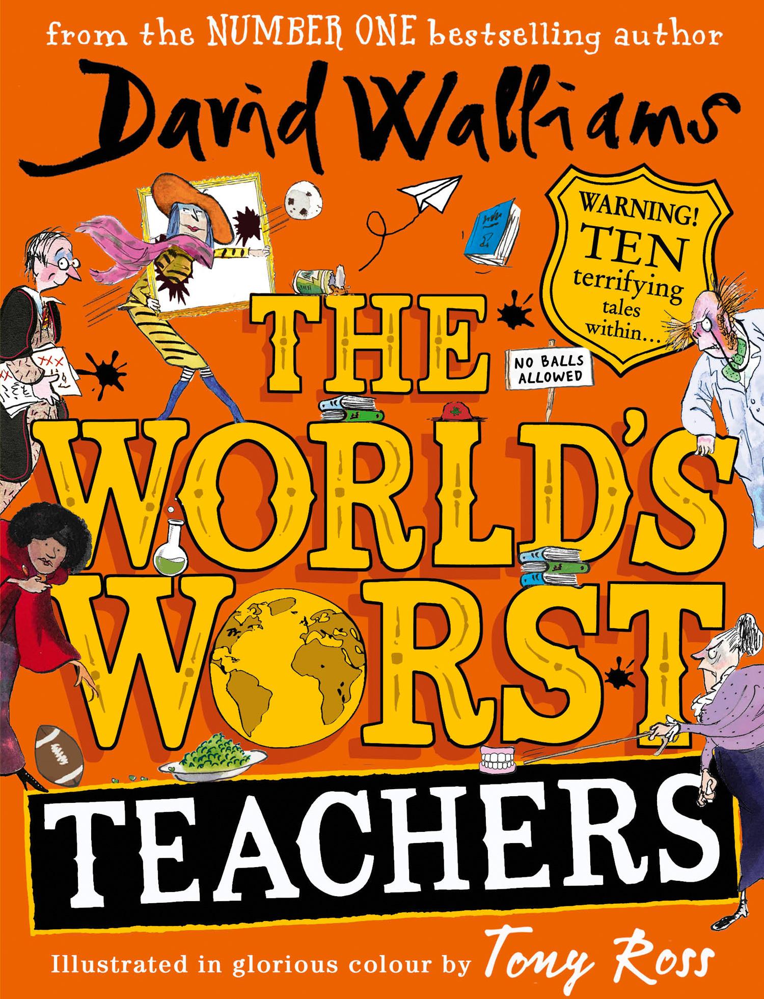 World's Worst Teachers by David Walliams