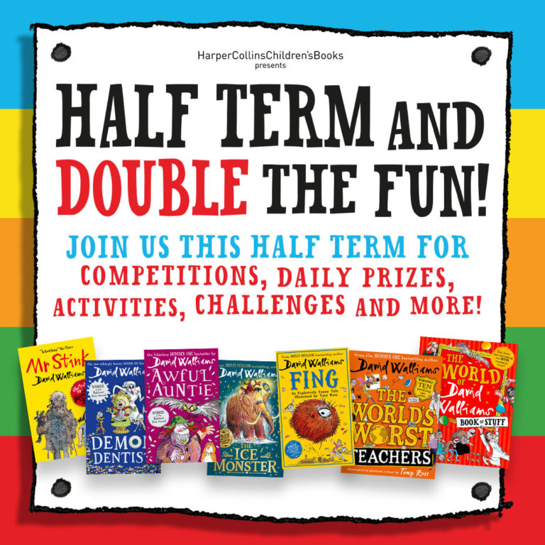 Read an Exclusive Extract of Each Book for Half-Term!