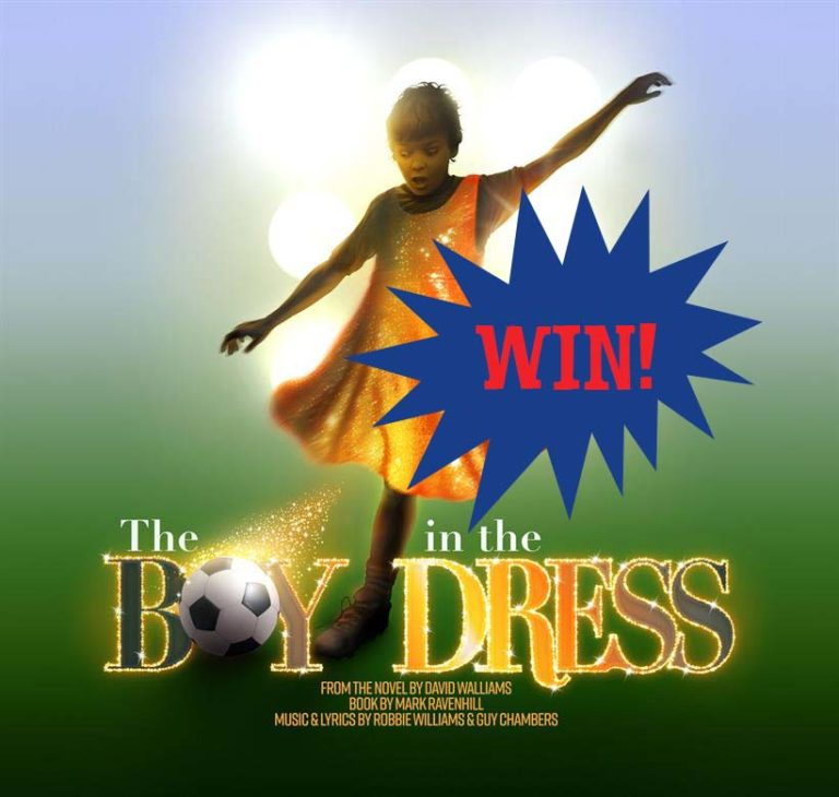 CLOSED: WIN a family ticket to see The Boy in the Dress Musical!