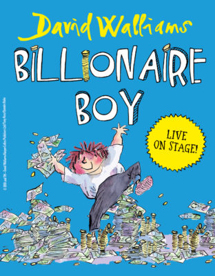 BILLIONAIRE BOY LIVE ON STAGE