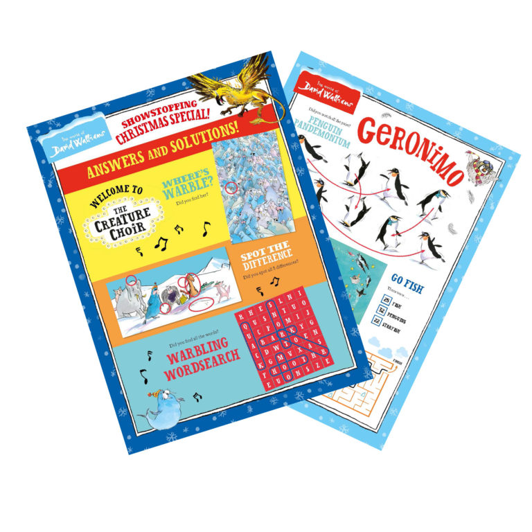 The Sunday Times Activity Answer Sheets!